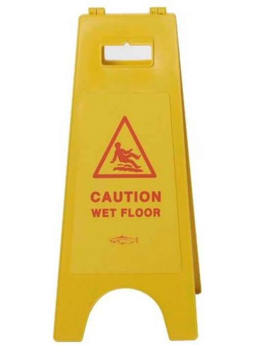 8614GB Caution Wet Floor Sign